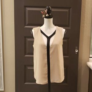 Light loose yet Sexy lined blouse